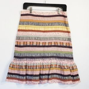 ODILLE anthropologie rendezvous skirt